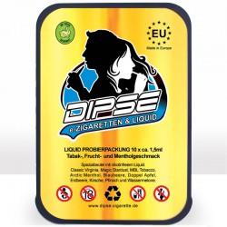 Probierset mit 10 Liquids von DIPSE Zigarette