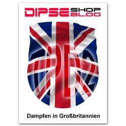 Dampfen in Grossbritannien. DIPSE Blog für e-Zigarette.