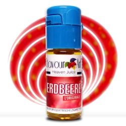 Flavourart Erdbeere Liquid für e-Zigarette.