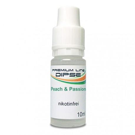 DIPSE Peach & Passion Liquid - Nikotinfrei