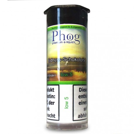 Phog e-Liquid Erdnuss-Schokoladentorte - Low