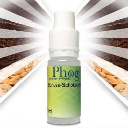 Phog e-Liquid Erdnuss-Schokoladentorte in drei Variationen. Nikotinfrei, Low und Medium.