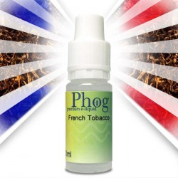 Phog e-Liquid French Tobacco in drei Variationen. Nikotinfrei, Low und Medium.