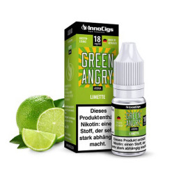 InnoCigs Green Angry - Liquid mit frischem Limetten-Aroma für e-Zigarette.