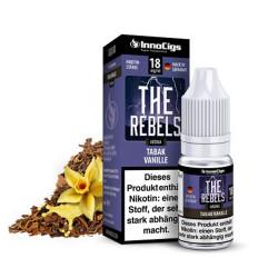 InnoCigs The Rebels - Liquid mit Tabak-Vanille Geschmack für e-Zigarette.