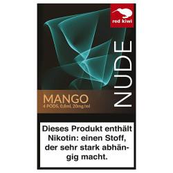 red kiwi POD Mango NUDE - Nikotinsalz mit 2%