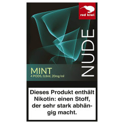 red kiwi POD Mint NUDE - Nikotinsalz mit 2%