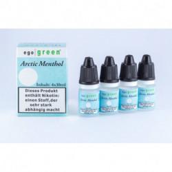 Vorteilspack 4x10ml Arctic Menthol e-Liquid