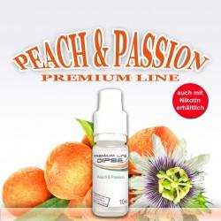 Peach & Passion Liquid für e-Zigaretten