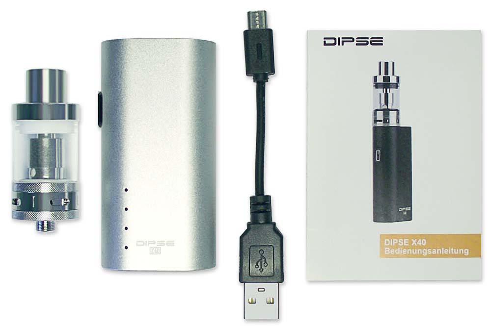 DIPSE X40 Box Kit - Lieferumfang