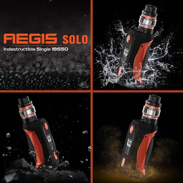 GeekVape Aegis Solo - Leicht, kompakt und robust.