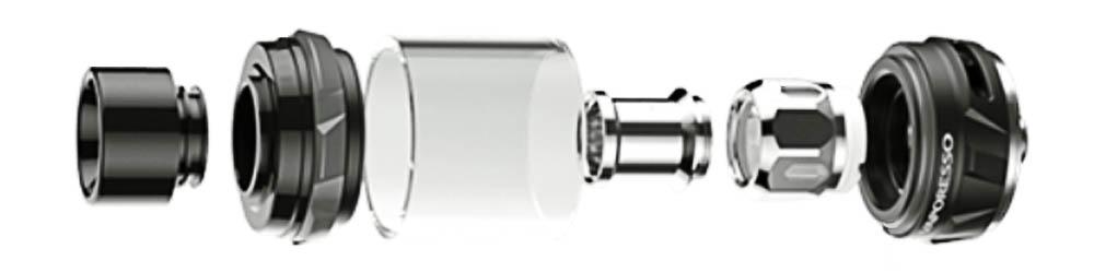 Vaporesso NRG Tank - Einzelteile