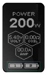 Wismec Reuleaux RX2 20700 Box MOD - OLED Anzeige