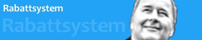 Rabattsystem für registrierte DIPSE Zigarette Kunden