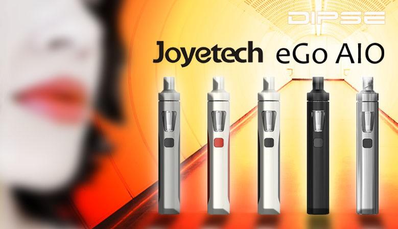 Die eGo AIO von Joyetech ist für Einsteiger und erfahrene Dampfer geeignet. Kompaktes und stylisches Design und einfache Bedienung..