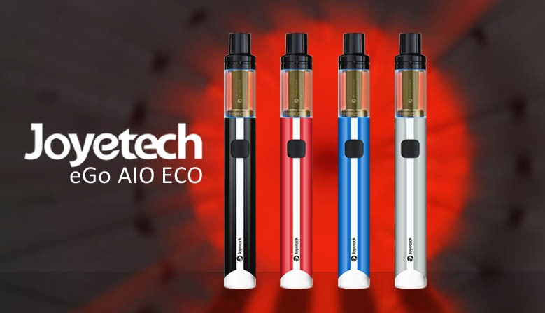 Die eGo AIO ECO von Joyetech ist sehr bequem zu bedienen und Sie können, Dank der ECO-Technik, sehr lange Dampfen.