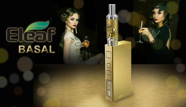Eleaf Basal Kit. Hervorragend für Einsteiger geeignet. Edles Design und höchte Qualität zum günstigen Preis.