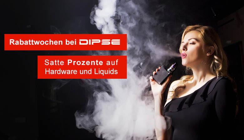 Sparen Sie jetzt bei den Rabattwochen im DIPSE Zigarette Shop.