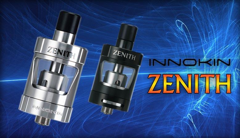 Der Zenith von Innokin ist ein komfortabler Verdampfer der leicht zu befüllen ist und die Verdampferköpfe leicht zu wechseln.